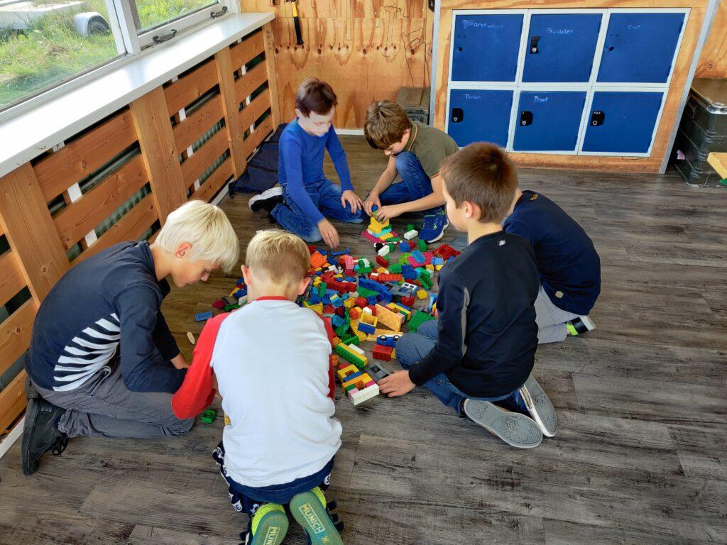 Lego kinderfeestje