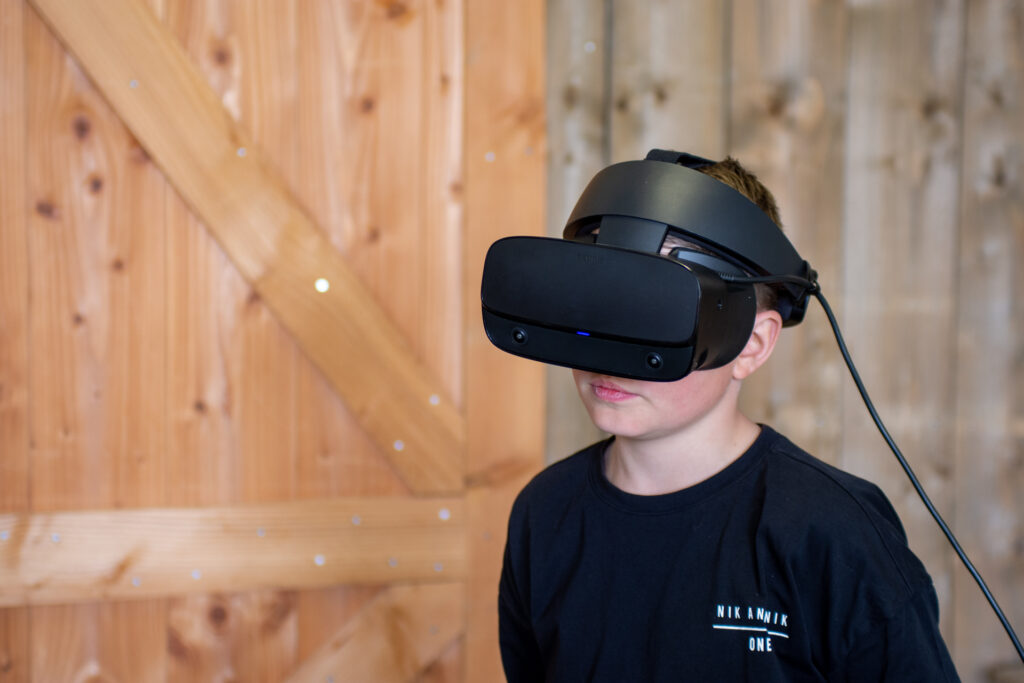 VR-Room kinderfeestje